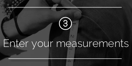 Step 3: Enter Your Measurements